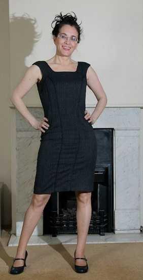 Event Companion photo Debra wearing office dress