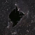 Blog image. hole in net.